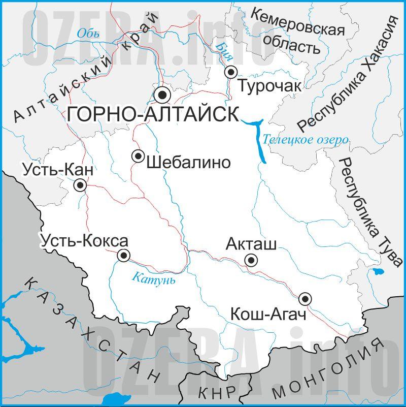 карта башкортостан рыбалка