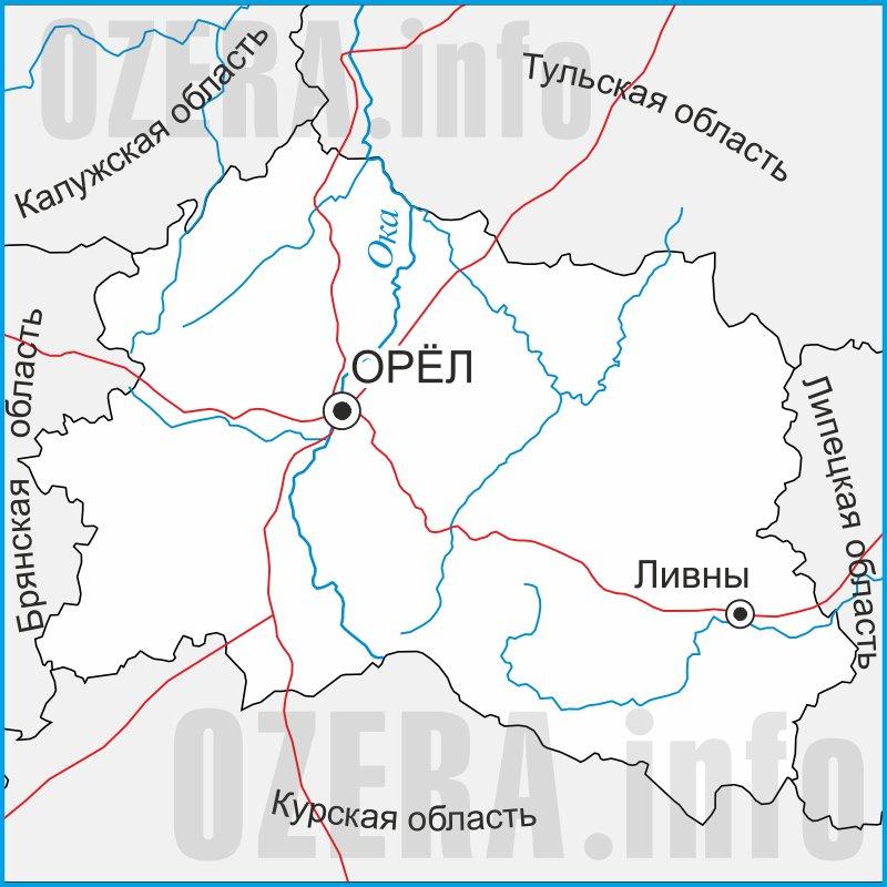карта для рыбалки калужской области