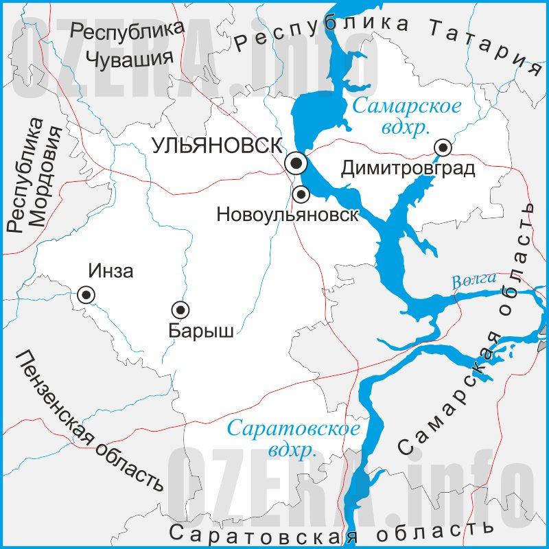 карта для рыбалки кемеровская область