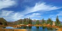 Выбор удачного места для рыбалки на озере