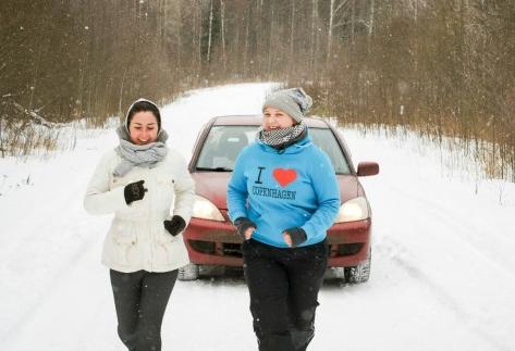 Экстремалы организовали забег по Онежскому озеру, несмотря на запрет МЧС