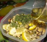 Мидии с лимоном