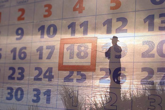 Рыболовный календарь на год
