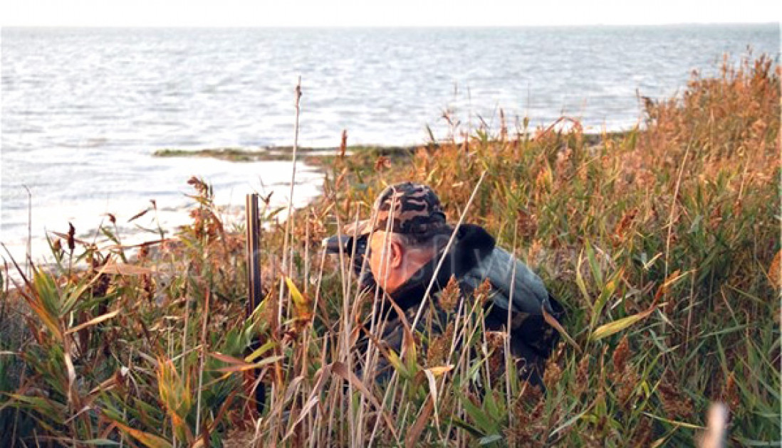 Охота на озерах России