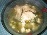 Субботний суп-пюре рыбный